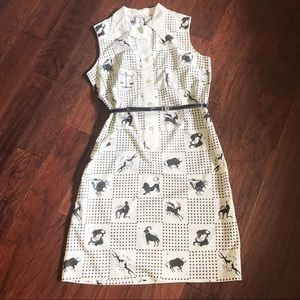 Serbin of Florida Muriel Ryan Zodiac Signs Dress